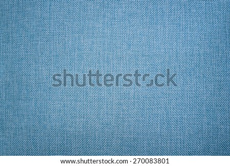 Light Blue canvas texture. canvas fabric as background - stock photo