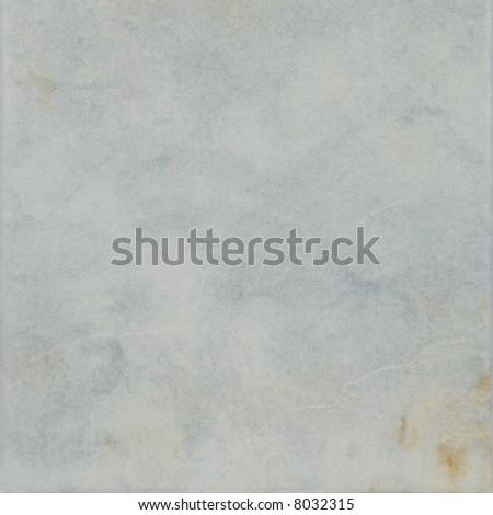 Light blue ceramic tile - stock photo