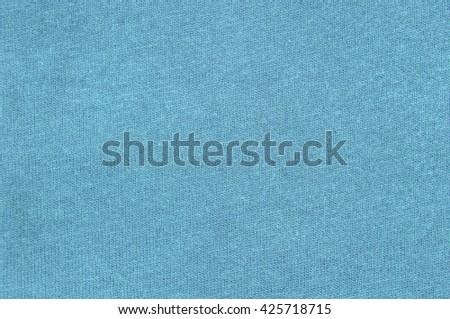 light blue cloth background texture - stock photo