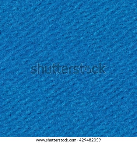 Light blue paper texture, can be used as background. Seamless square texture. Tile ready. Tile ready. - stock photo
