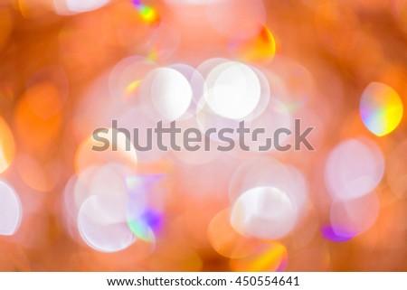 light bokeh background  thailand - stock photo