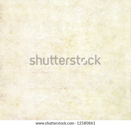 light brown background image with the texture of old paper - stock photo