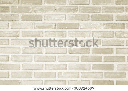 light brown brick wall cement backgrounds textured - stock photo