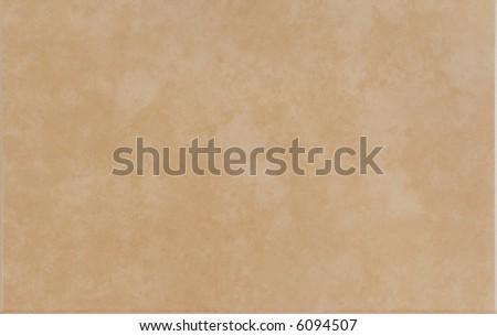 Light brown ceramic tile - stock photo