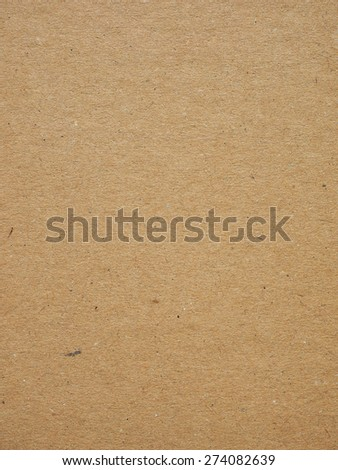 light brown corrugated cardboard useful as a background - stock photo