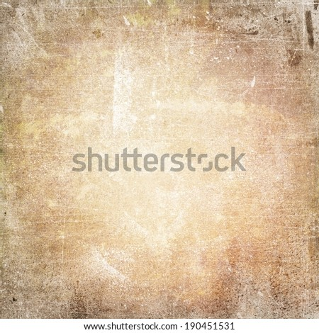 light brown grunge background texture paper - stock photo