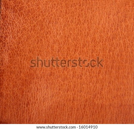 light brown leahter texture - stock photo