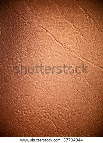 light brown Leatherette texture vertical Background