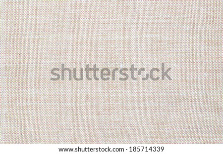 Light brown linen cloth texture for the background. - stock photo