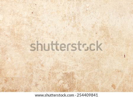 Light brown parchment paper texture. - stock photo
