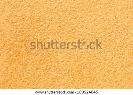 Light brown suede leather texture background - stock photo