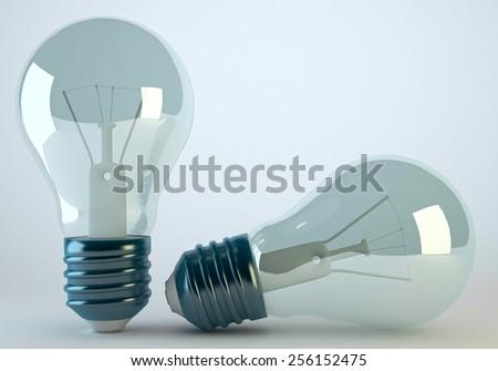 Light Bulb Lamp - stock photo