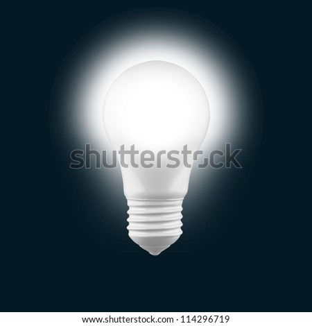 Light Bulb Light Bulb pure white