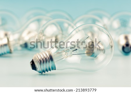 Light bulbs - stock photo