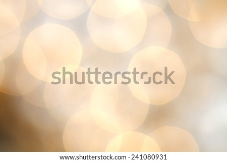 Light bulbs with as star background beautiful bokeh