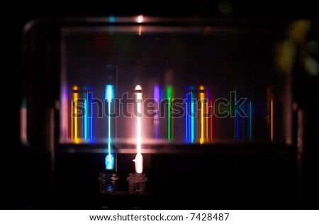 Light bulbs with different colors - stock photo