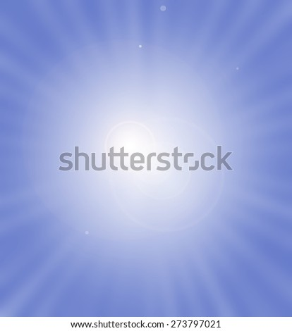 Light burst - stock photo