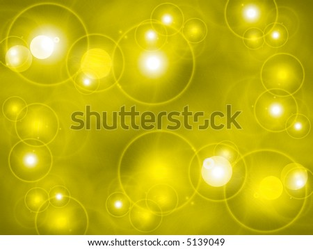 Light burst in yellow and black with lens blur