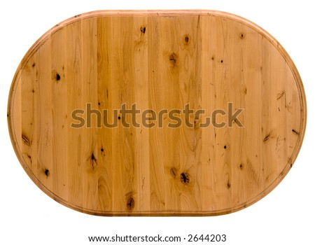 Light Colored Pine Table top - stock photo