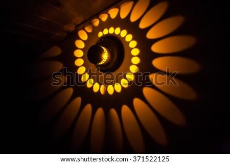 light decoration - stock photo