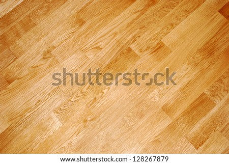 Light Diagonal Striped Parquet Texture - can be used as background - stock photo