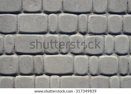 Light dry bulk detailed strength grungy structure small bar coverage backdrop design. View close-up with space for text on empty clean sunlight leaden context field - stock photo