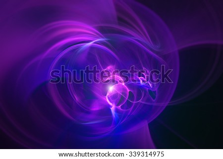 Light effect of burning gas. Abstract futuristic background for modern design - stock photo