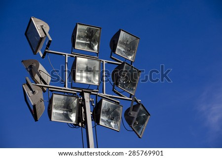 light equipment - stock photo