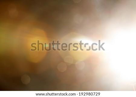 light Flare. - stock photo