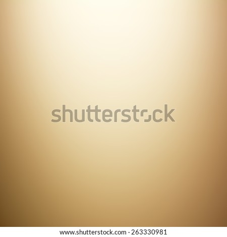 Light golden brown gradient abstract background - stock photo