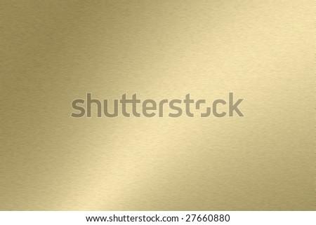 Light golden metallic texture wallpaper - stock photo