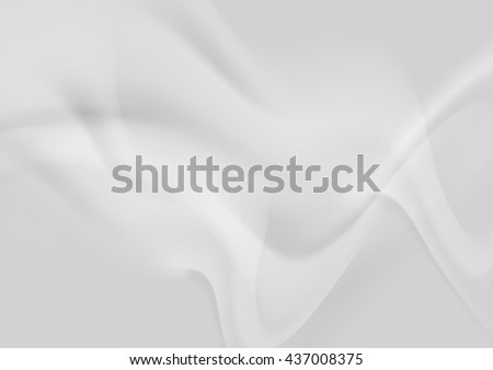 Light grey abstract smooth wavy background