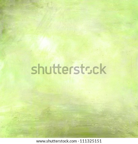 light grunge mint green paint background texture - stock photo