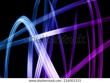 light line - stock photo