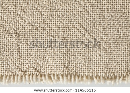light natural linen texture of canvas for the background - stock photo