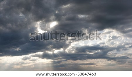 light of day - stock photo