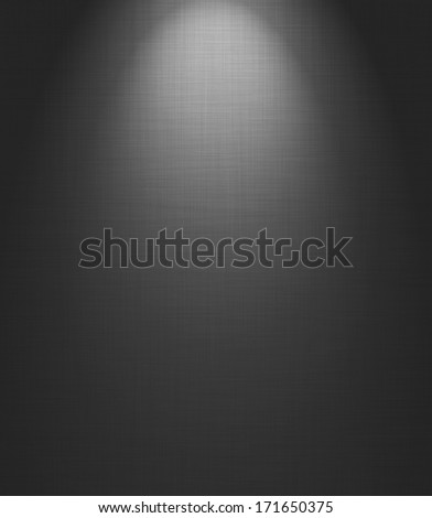 Light on floor background