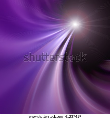 Light or star abstraction design - stock photo