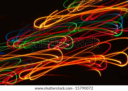 Light Painting, Strings