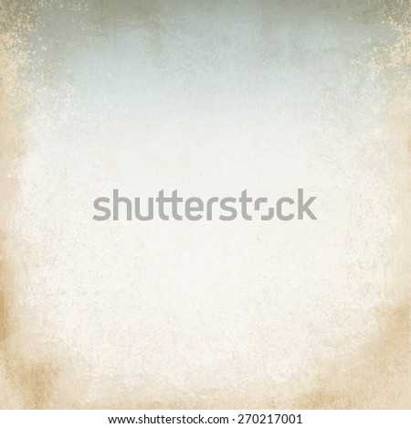 light parchment with blue - stock photo