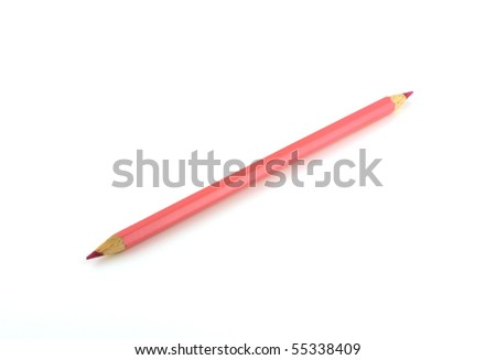 Light pink pencil