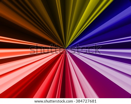 Light radius, Abstract smooth light dark colorful background. sunburst