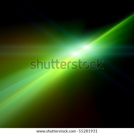 light rays or light explosion background - stock photo