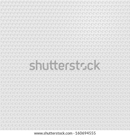 light silver metal background with round hole and reflection