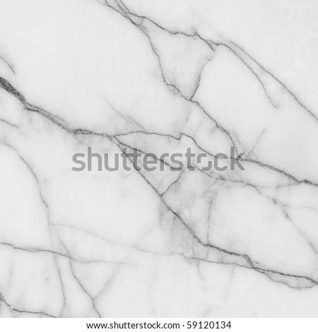 Light soft gray effect marble texture - stock photo