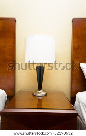 Light stand on the table - stock photo