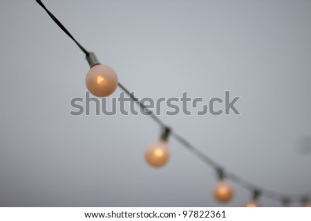 Light Strand - stock photo
