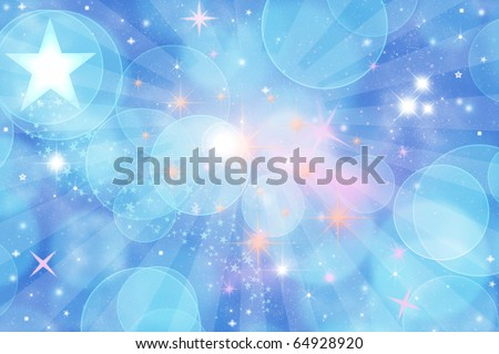 LIGHT THE STAR BACKGROUND - stock photo