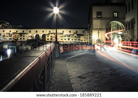 Light Trails on Firenze