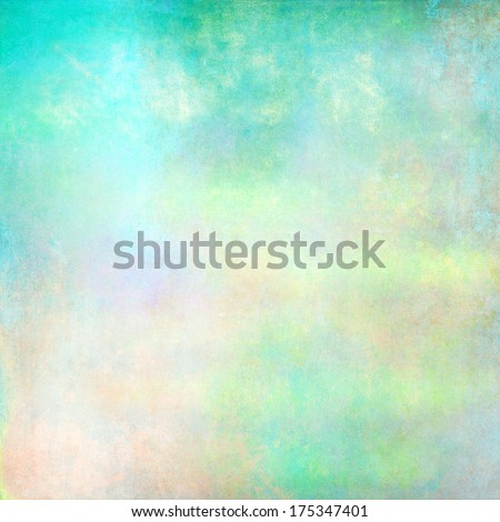 Light turquoise texture background - stock photo